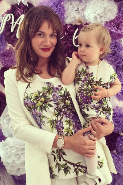 Лена Бушина с дочкой Лаурой