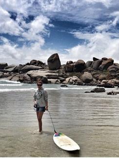 Татьяна на отдыхе в ЮАР