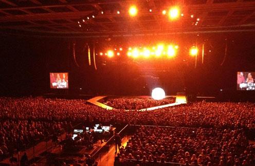 Концерт Леди ГаГи никого не оставил равнодушным
