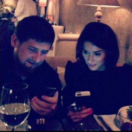 Тина Канделаки и Рамзан Кадыров