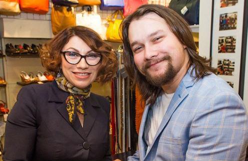 Роза Сябитова с сыном Денисом