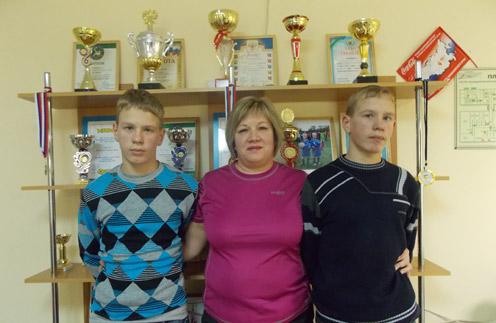 Влад, Татьяна Васильева и Толик
