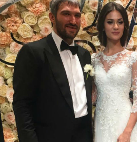 Настасья Шубская и Александр Овечкин