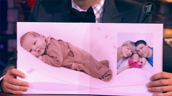 Юрий Шатунов и его жена Светлана с новорожденной дочкой