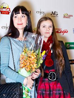 Нонна Гришаева с дочерью Анастасией