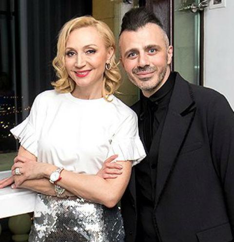 Кристина Орбакайте и Александр Сирадекиан