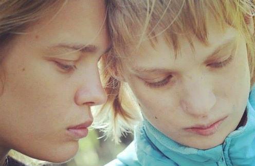 Наталья Водянова с сестрой