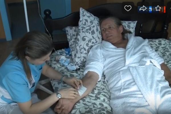 После ухода Евгении Челобанов лег на лечение