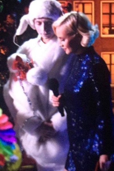 Полина Гагарина на церемонии «Песня года-2016»
