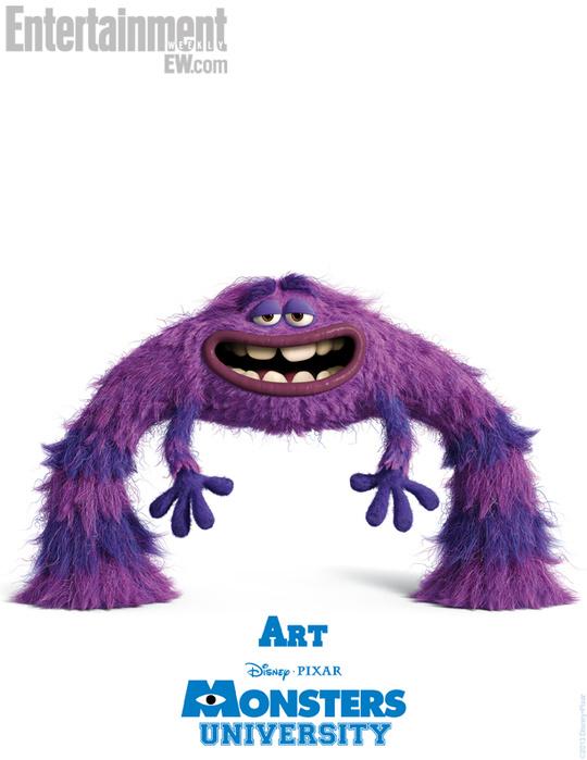 Свой голос Андрей отдал забавному монстру по имени Арт