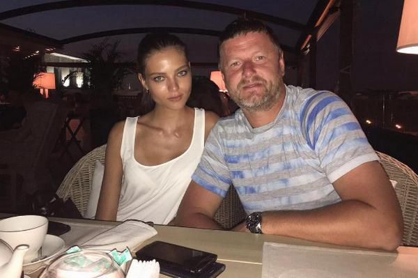 Евгений Кафельников с дочерью