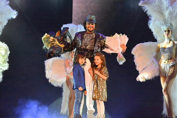 Филипп Киркоров и Алла-Виктория с Мартином