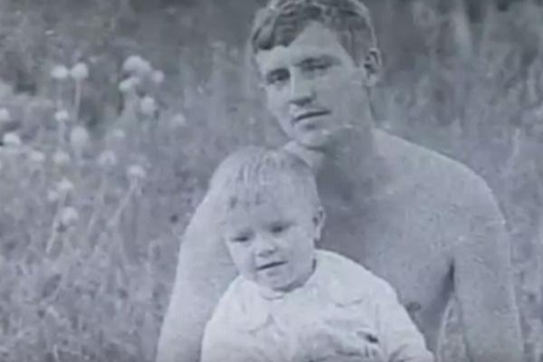 Андрей Захаренков и маленький Прохор Шаляпин