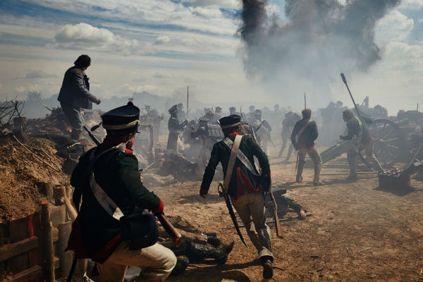 Поле сражения в сериале «Война и мир»