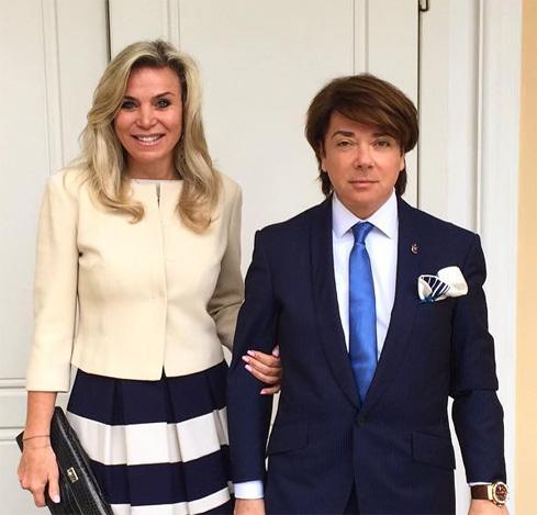 Марина Юдашкина и Валентин Юдашкин