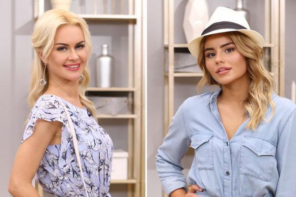 Марина Африкантова и Леля Баранова