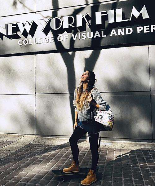 Об учебе в Нью-Йоркской киноакадемии Регина мечтала девять лет
