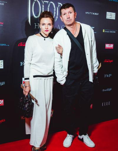 Сергей Кристовский с супругой