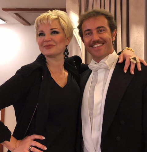 Мария Максакова и Франко Черри
