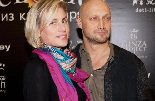 Гоша Куценко с женой Ириной