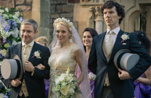 Аманда Аббингтон и Мартин Фриман поженились в 2007 году