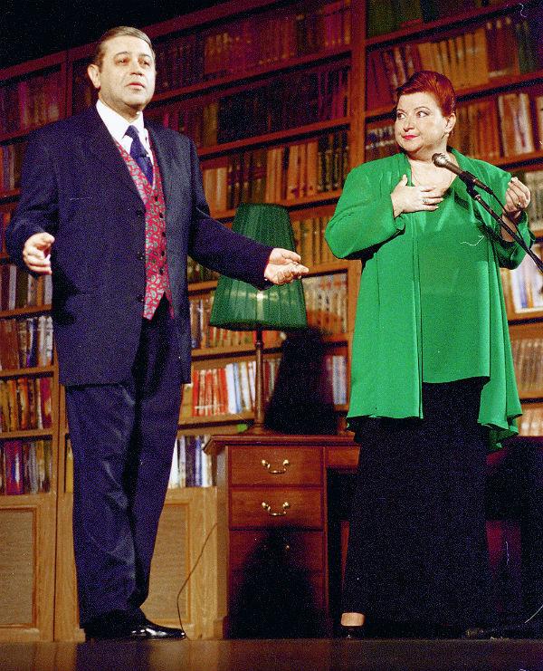 Егвений Петросян и Елена Степаненко