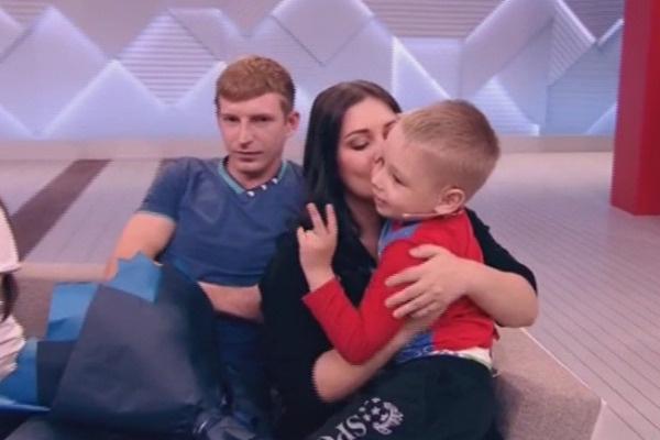 Валентина Исаева с сыном