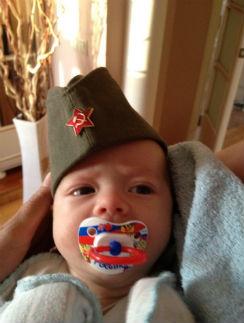 На этой фотографии Федору 4 месяца: Оксана не афиширует личную жизнь