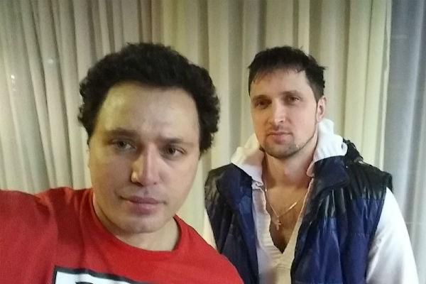 Рустам Солнцев и Сергей Сичкар