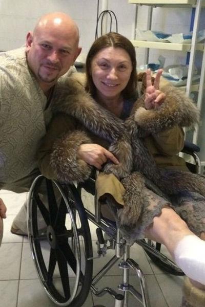 Роза Сябитова не так давно получила серьезную травму ноги