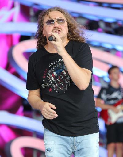 Игорь Николаев на репетиции