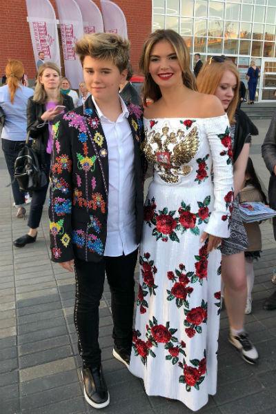 Алина Кабаева с блогером