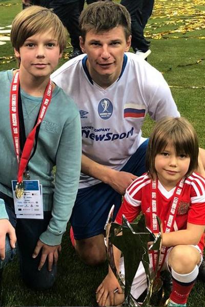 Недавно Аршавин начал видеться с детьми