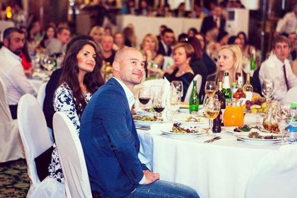 Андрей Черкасов и Стелла на финале «Мисс Русь»