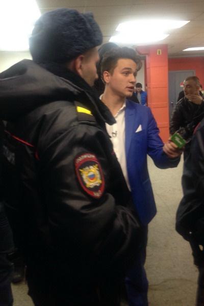 На съемочную группу напали с кулаками в универмаге Санкт-Петербурга