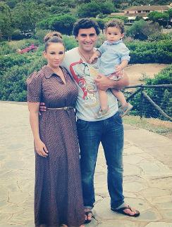 Летом 2013 года Анфиса и Гурам ездили в Грузию вместе с годовалым сыном Соломоном