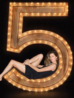 Жизель Бундхен в новой рекламной кампании Chanel №5