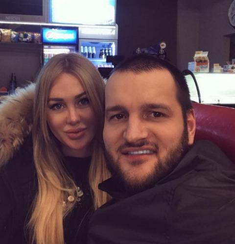 Алексей Самсонов с женой Юлией