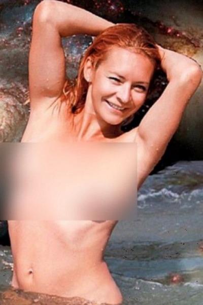 Марина Анисина без белья