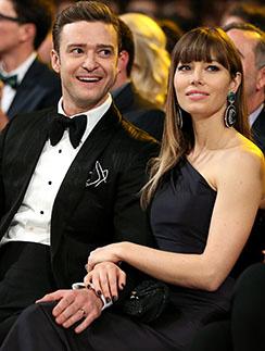 Джастин Тимберлейк и Джессика Бил