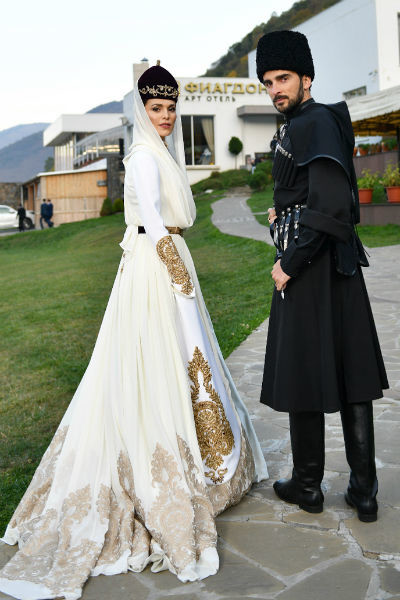 Сати Казанова и Стафано Тиоццо