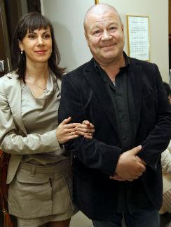 Сергей Селин с гражданской женой Анной