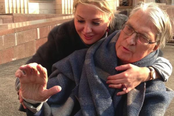 Мария Максакова с отцом