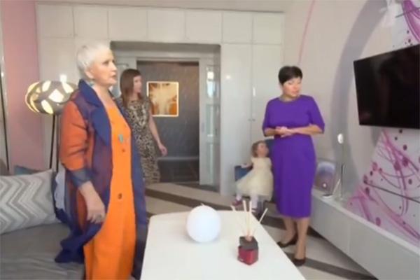 Галина Ненашева пришла в восторг от нового интерьера