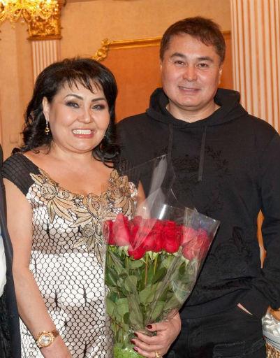 Клара Кузденбаева и Арман Давлетьяров