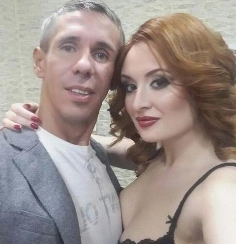 Алексей Панин и Ева Бергер