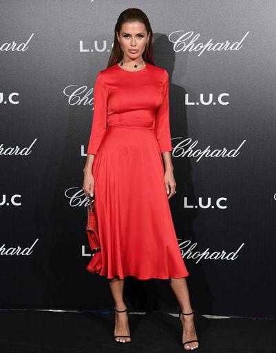 Виктория Боня посетила одну из вечеринок кинофестиваля, устроенную известным брендом