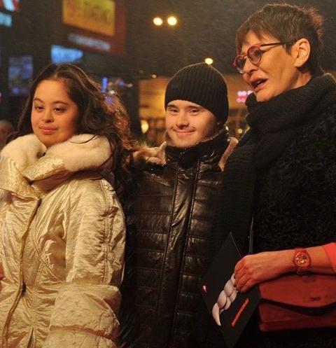 Ирина Хакамада с дочерью Машей и ее молодым человеком