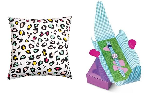 Подушка H&M Home, Часы в подарочной упаковке Swatch ROSES4U