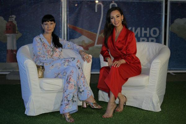 Нонна Гришаева и Анна Пырова